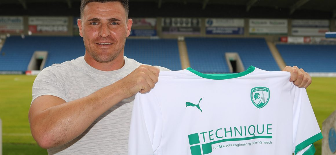 Experienced keeper joins Spireites