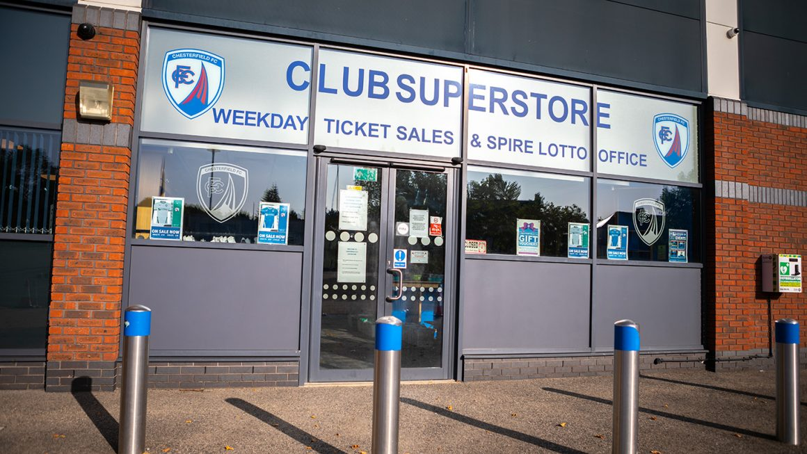Click & Collect service in operation