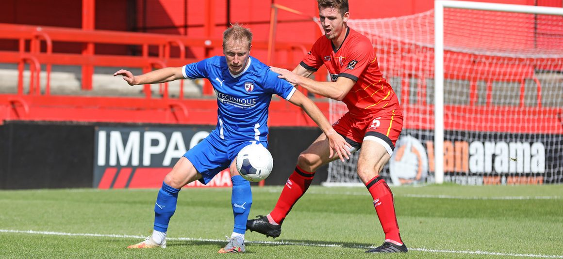 Defeat for Spireites at Alfreton