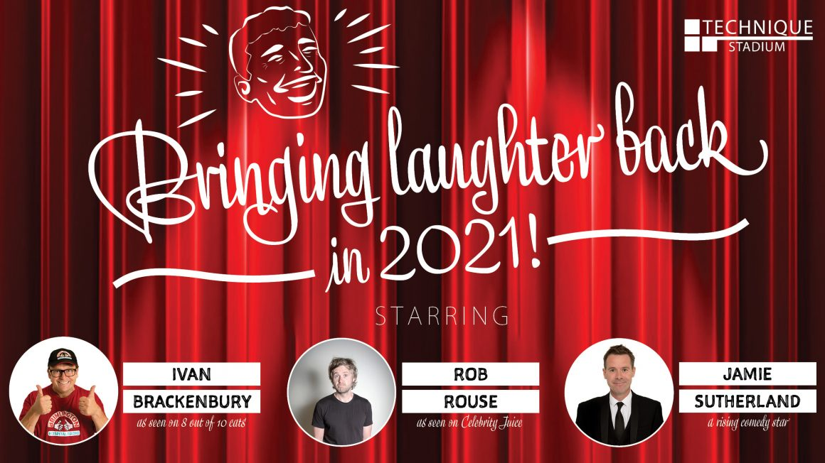 Book for comedy night in 2021!