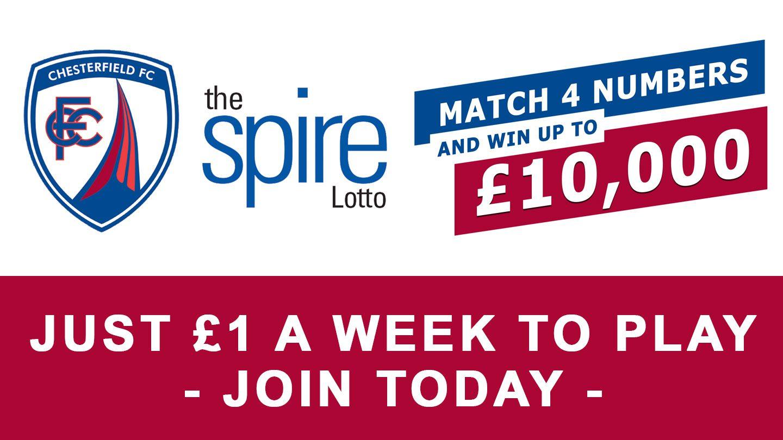 Spire Lotto -Win upto £10,000