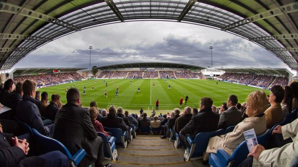 Matchday staff required