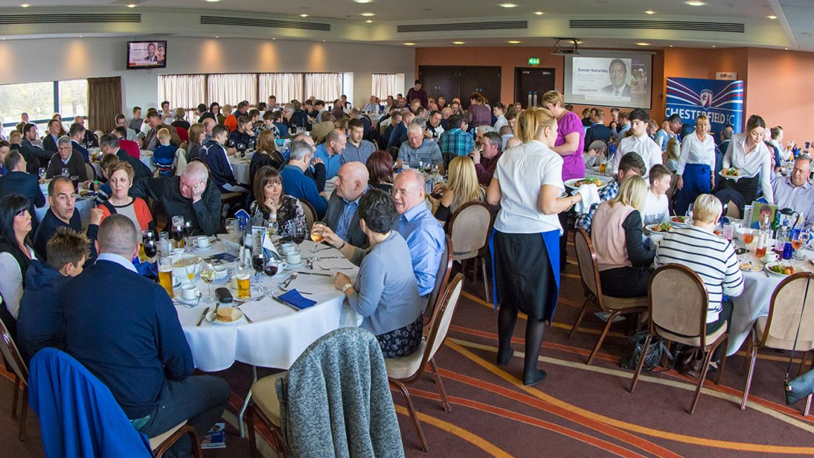 Andy Morris at Senior Spireites lunch