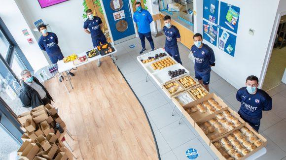 Trust's successful free meals initiative