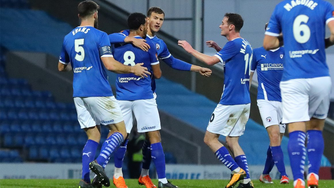 Spireites edged out by Stockport