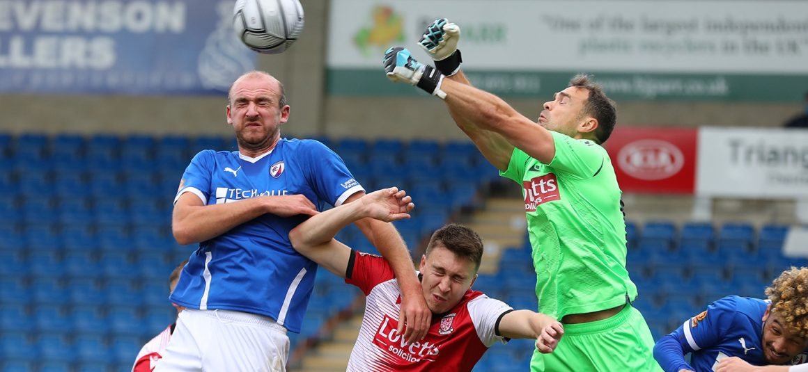 Comfortable victory for Spireites