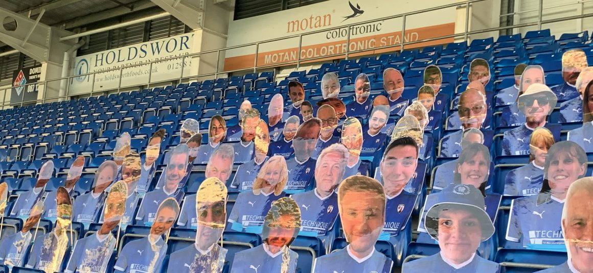 Take your place in the Spireites Kop Choir