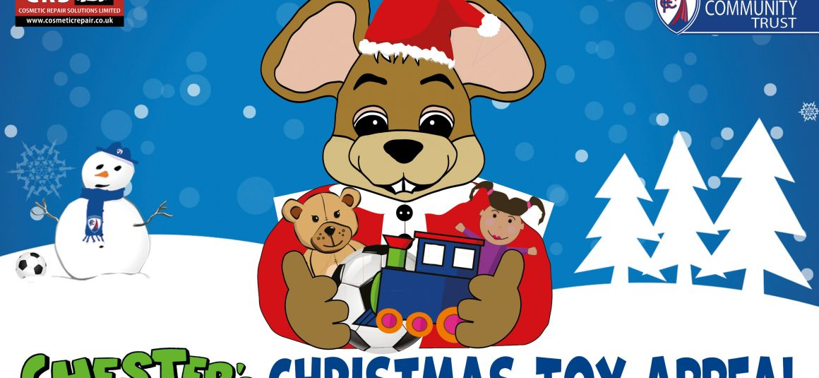 Chester's Christmas Toy Appeal