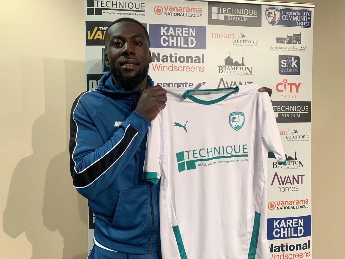New Spireites boss lands in-form striker
