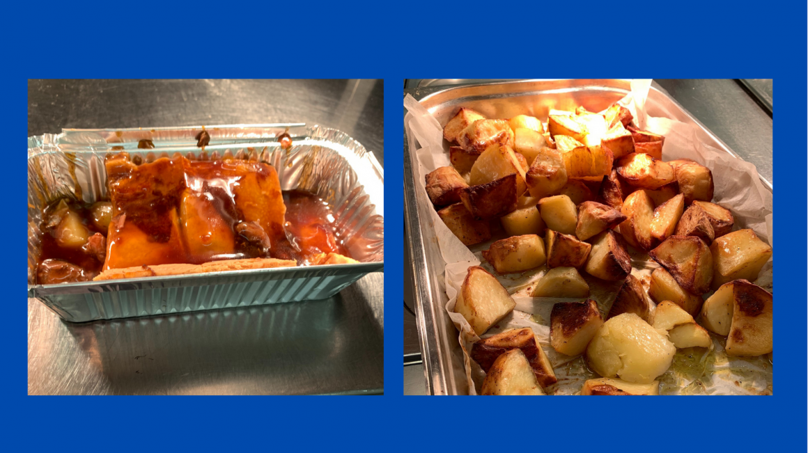 Takeaway food available to book for Saturday