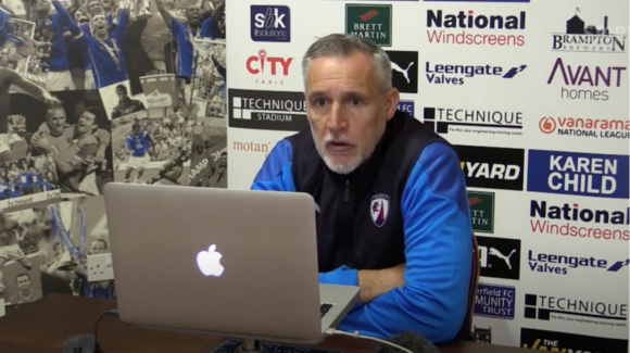 Pre-match press conference: Altrincham (a)