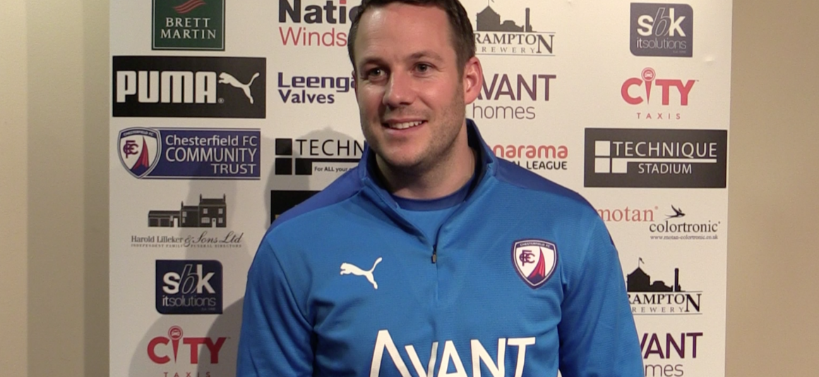 Rowe named as new Chesterfield manager