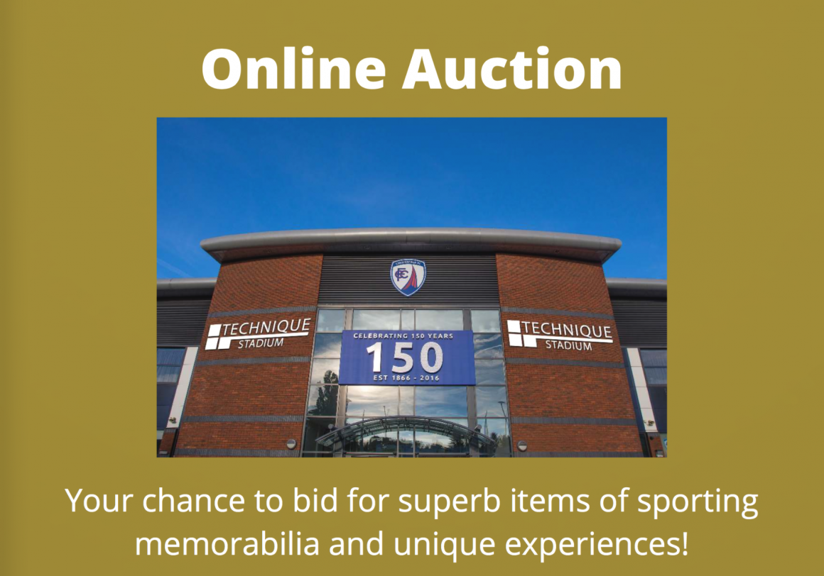 Online Auction update