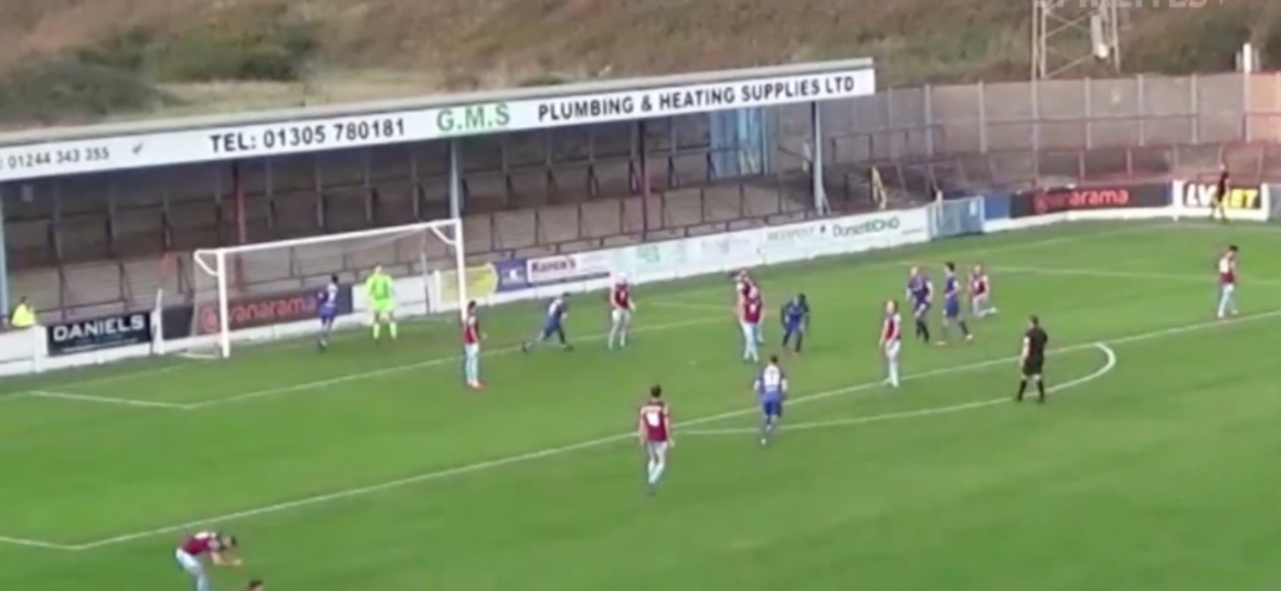 Highlights from Weymouth match