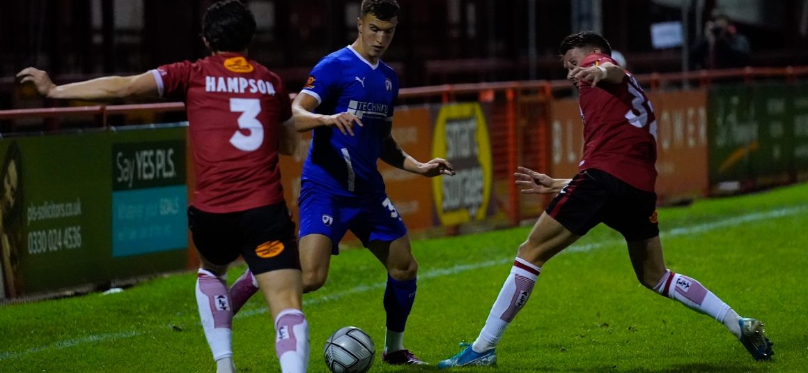 Spireites edged out at Altrincham