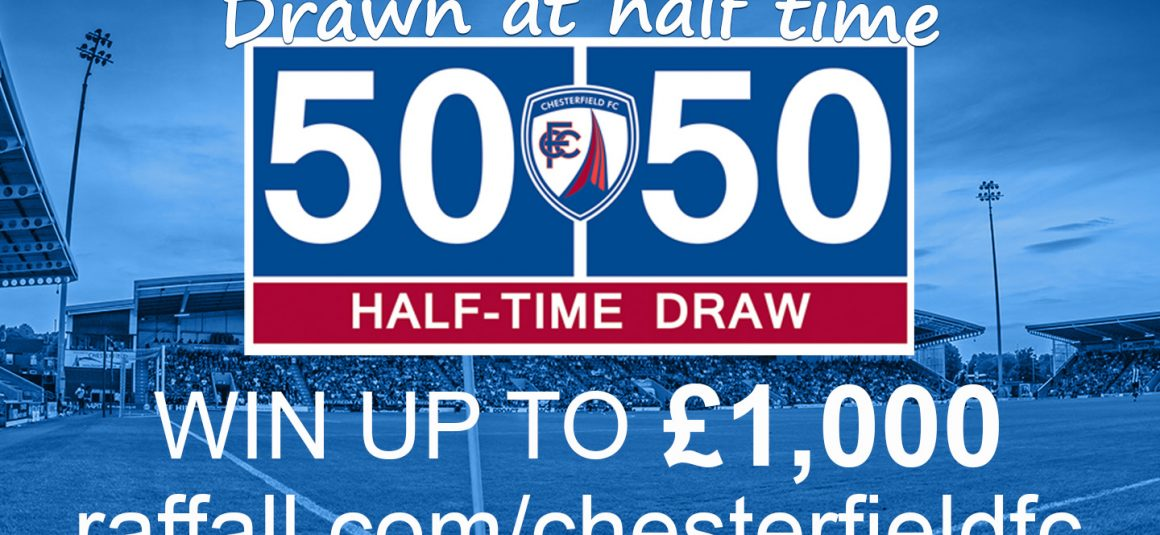 Today's Online Matchday 50/50 Draw