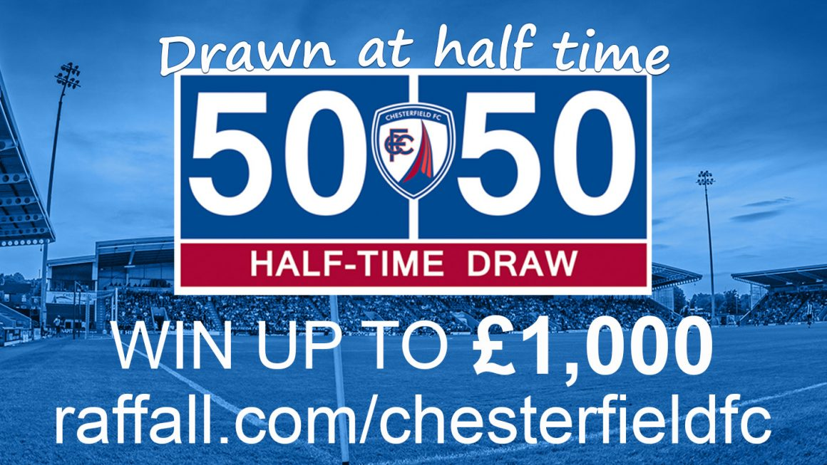 Take part in the Online 50/50 Draw