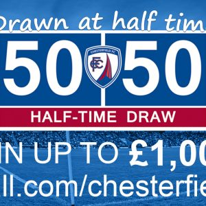 Online matchday 50/50 Draw launched