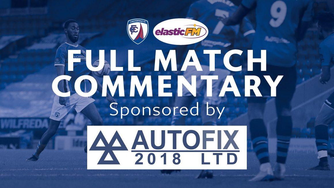 Autofix sponsor match commentary