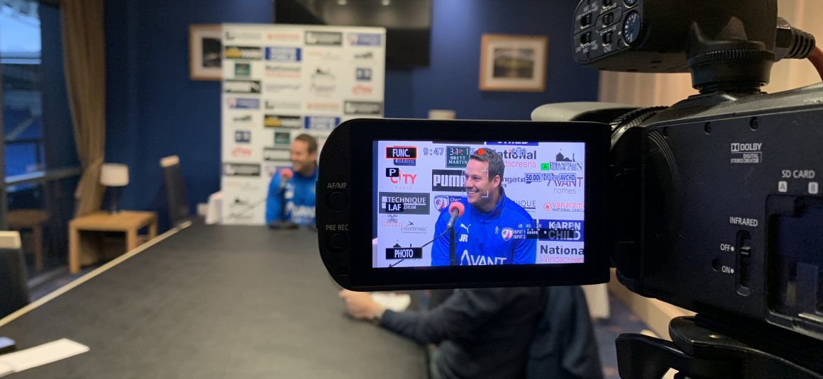 Watch the pre-match press conference