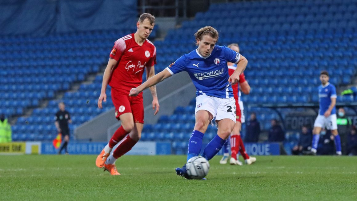 Shoot-out win for Spireites