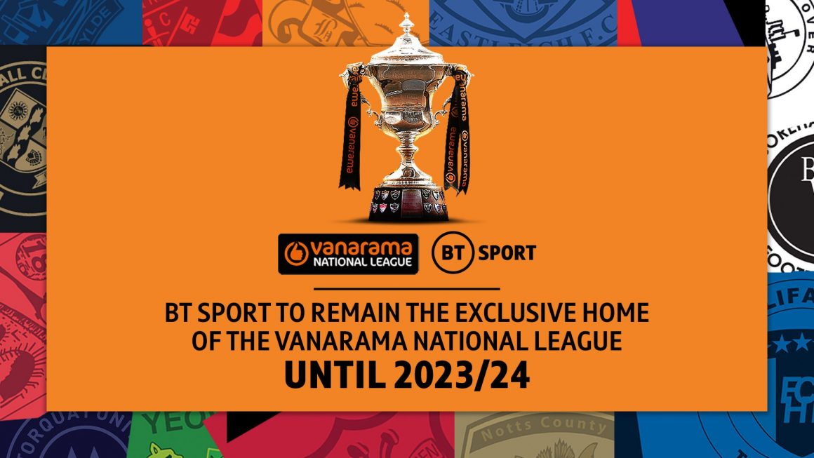 BT SPORT to remain the home of the National League