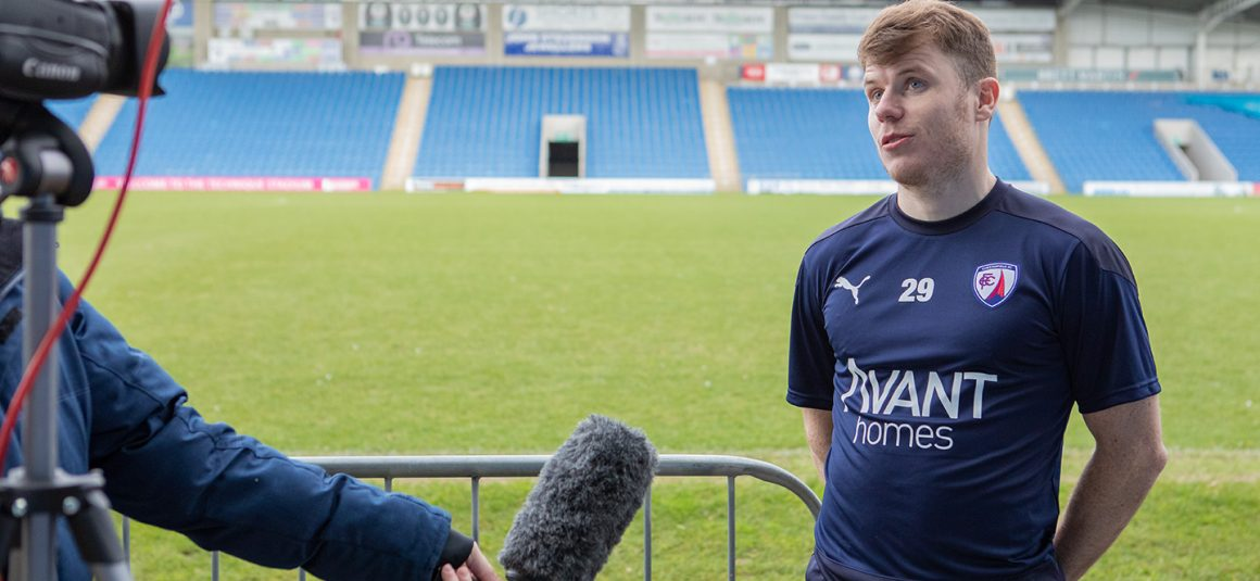 Whittle's first Spireites+ interview