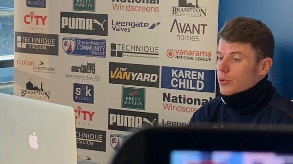 Pre-match interview: Alex Whittle