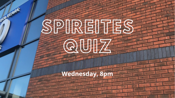Spireites Quiz on Wednesday night