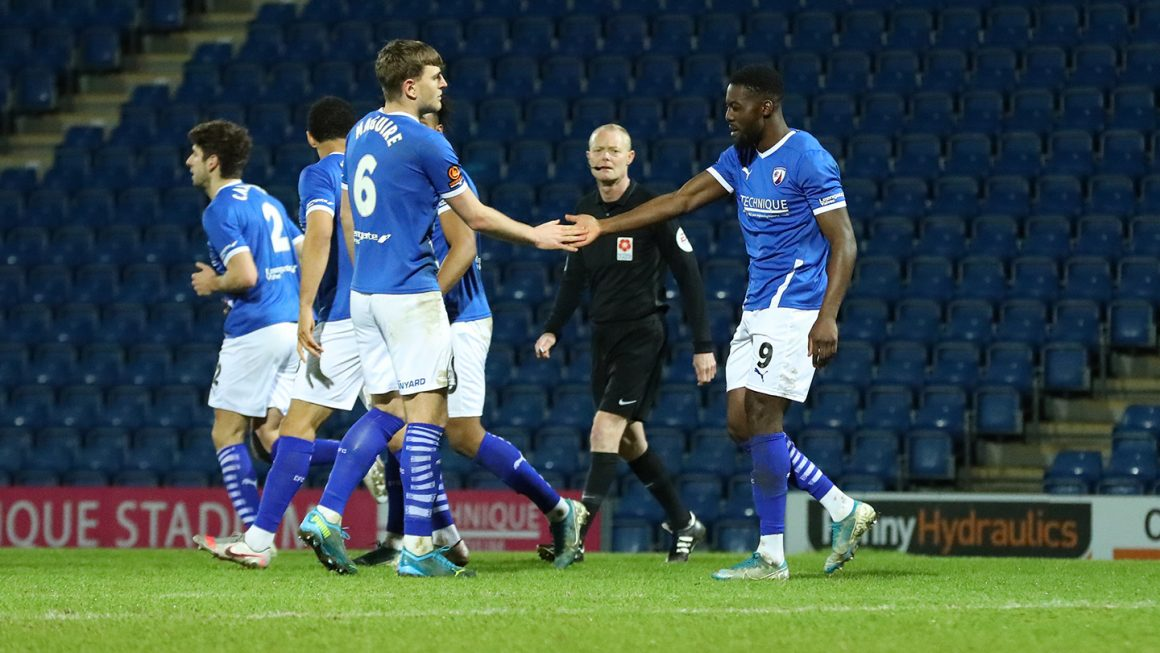 Home victory for Spireites