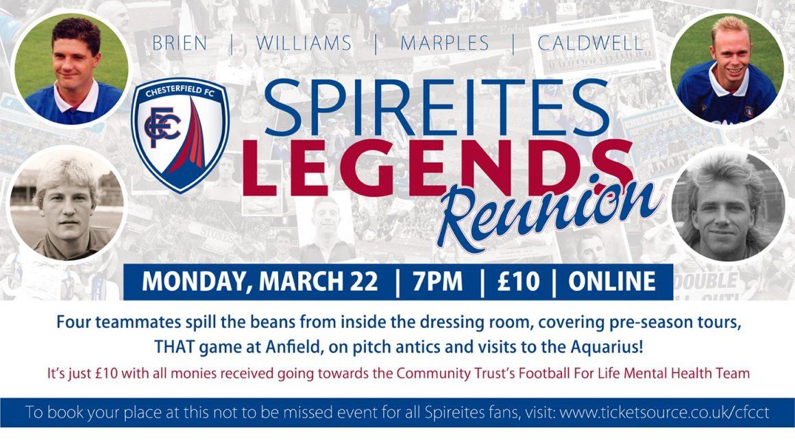 Online legends event