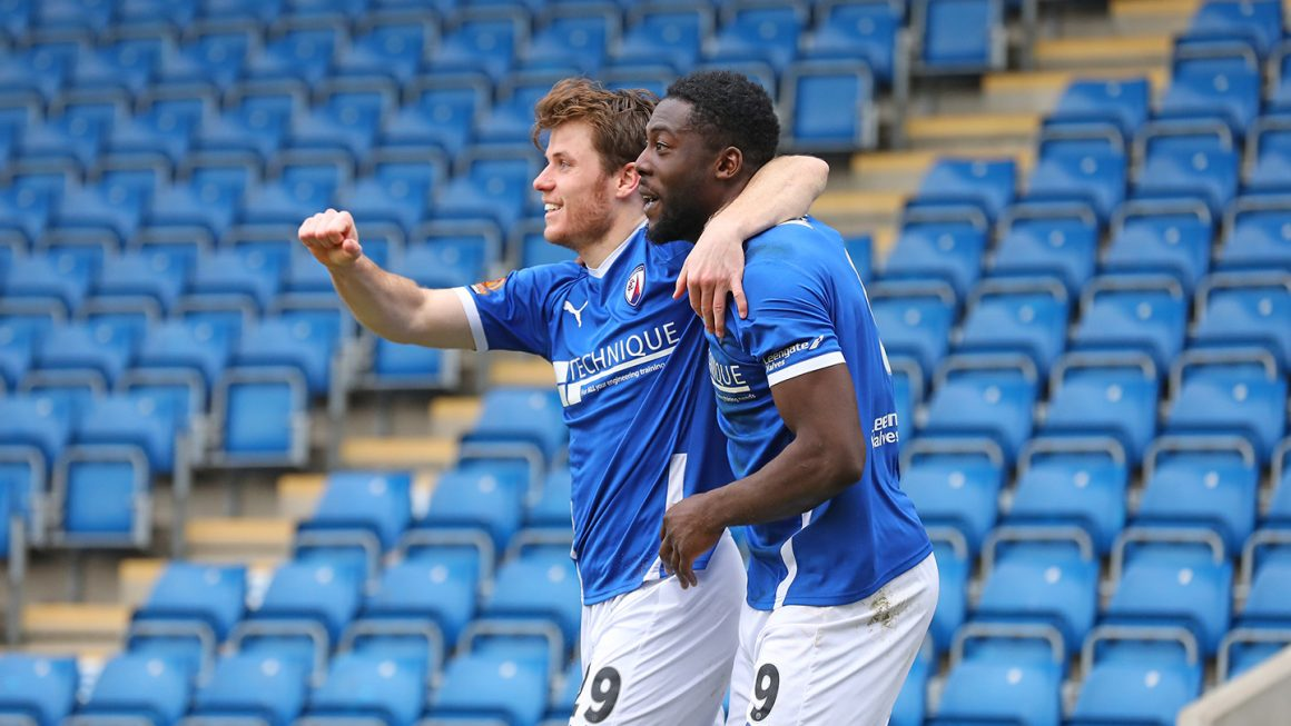 Another win for Spireites