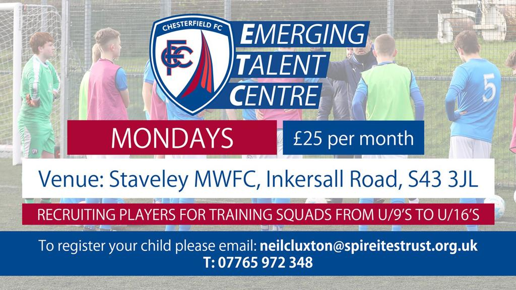 Emerging Talent Centre recruitment
