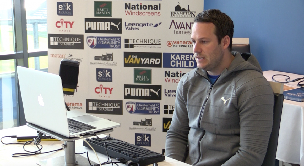 Pre-match press conference: FC Halifax Town (h)