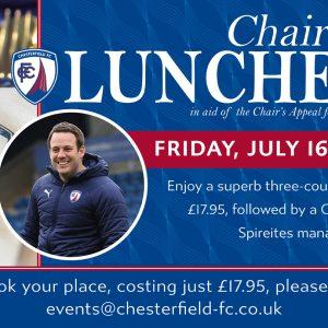 Chairman's Luncheon with James Rowe