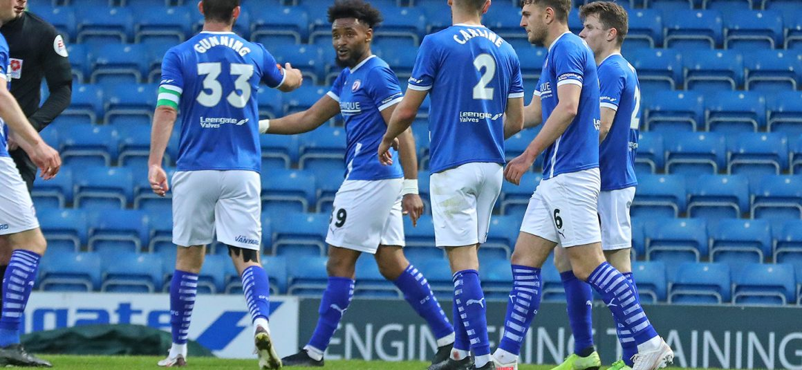 Spireites hit four in home win