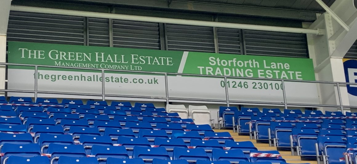Limited availability of advertising boards