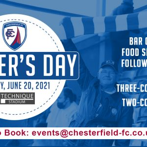 Enjoy Father's Day at the Technique Stadium!