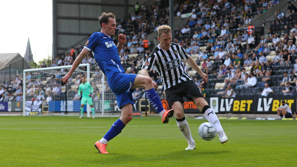 Spireites edged out at Notts