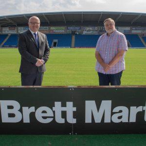 Brett Martin extend sponsorship agreement