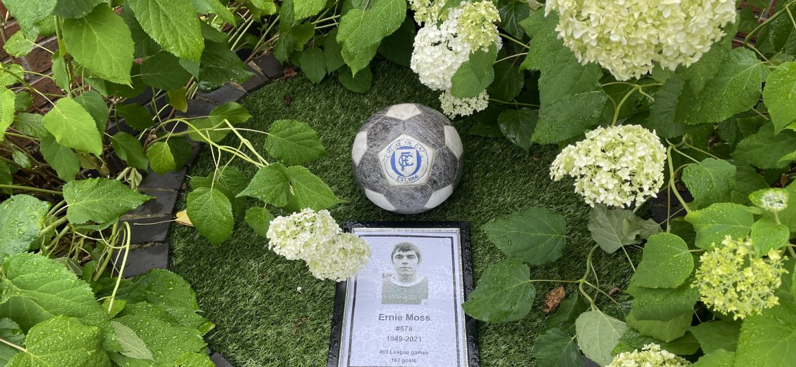 Floral tributes to Ernie