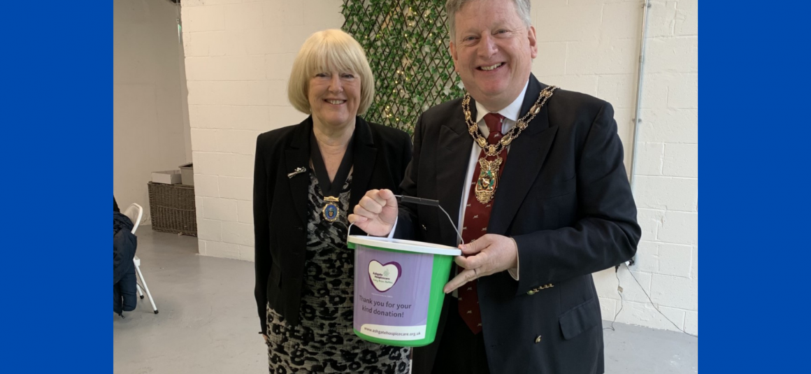 Bucket collection for Ashgate Hospicecare