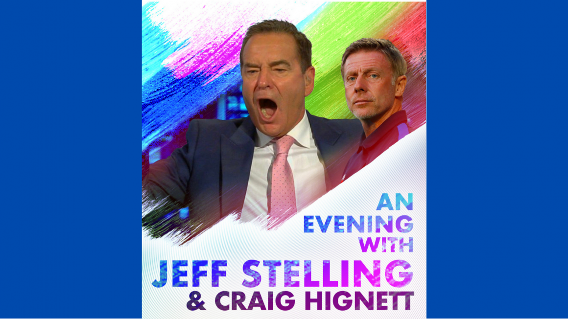 Jeff Stelling live at the Technique Stadium!