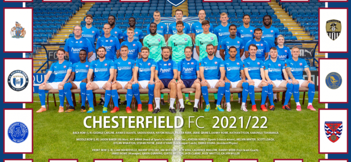 Free poster in matchday programme