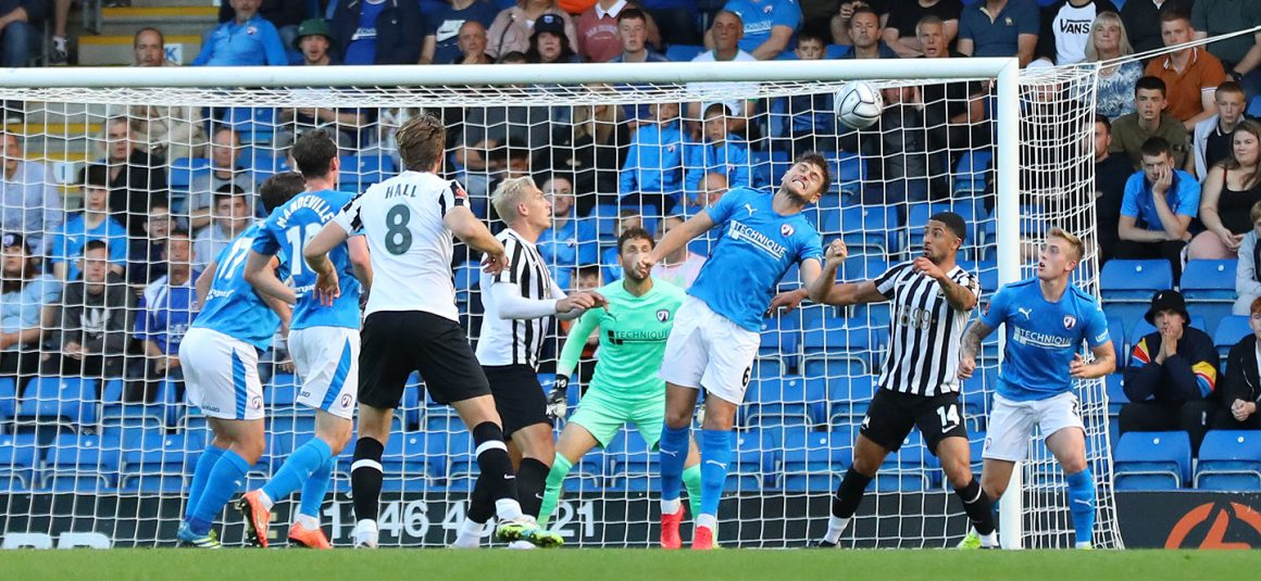 Tshimanga at the double as Spireites held by Torquay