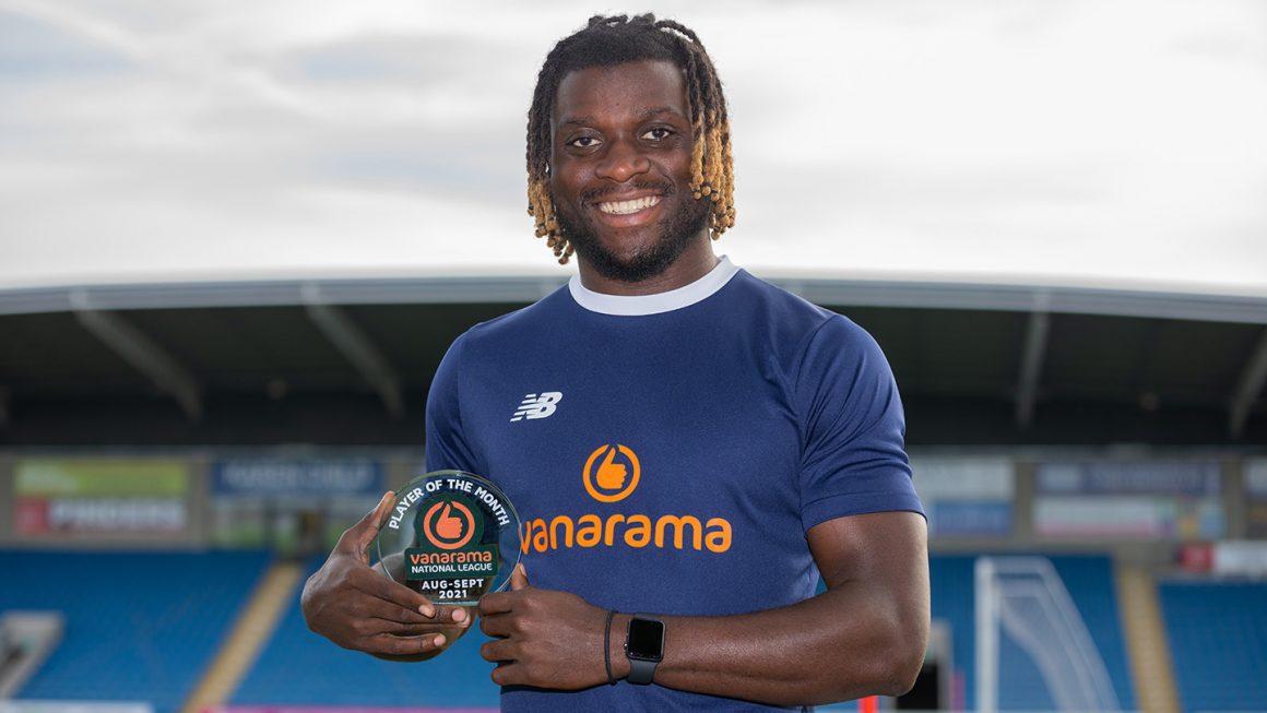 Tshimanga wins Player of the Month award!