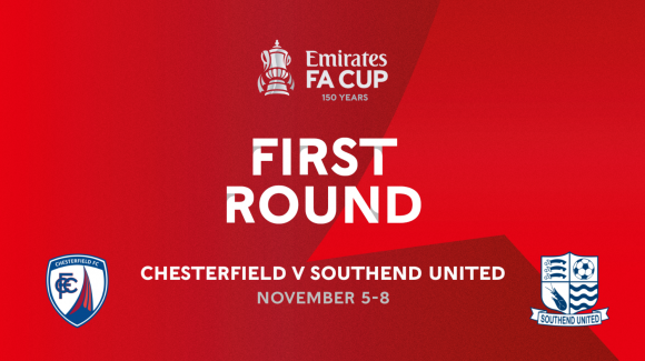 Spireites at home to Southend United in Cup