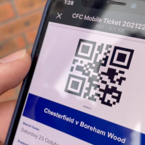Introduction of mobile tickets